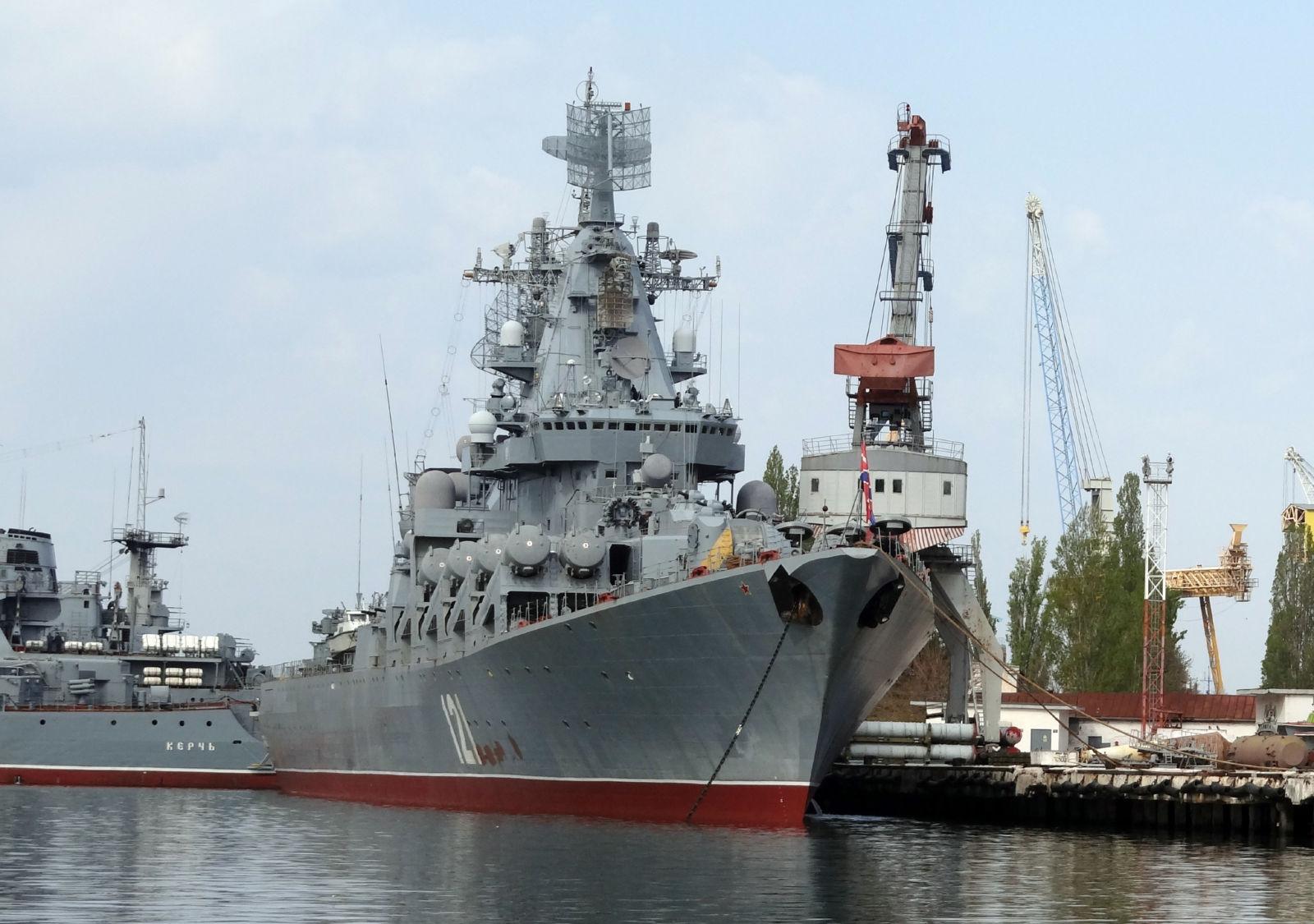 ロシア海軍黒海艦隊はセヴァストーポリで大祖国戦争勝利70周年記念観艦式の準備を始めた   N.G.クズネツォフ記念・ウリヤノフスク赤旗・親衛ロシア海軍情報管理局