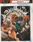 「わくわく7」J&間夏美(『ゲーメスト』1996年12月15日号より)