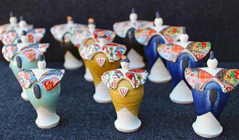 オラマ副賞の陶人形