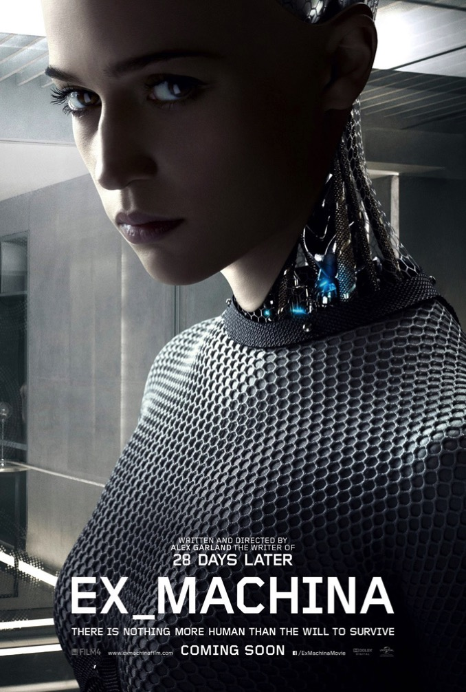 Ex Machina Alex Garland Alicia Vikander Poster 002