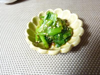 小松菜のおひたし