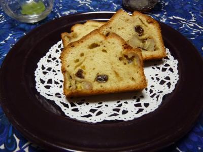 バナナレーズンケーキ