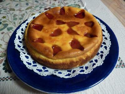 いちごのイーズケーキ