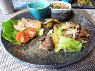 韓国風焼き肉ほか