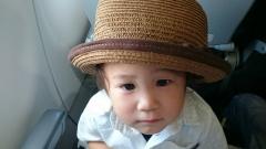 帽子似合うでしょ。