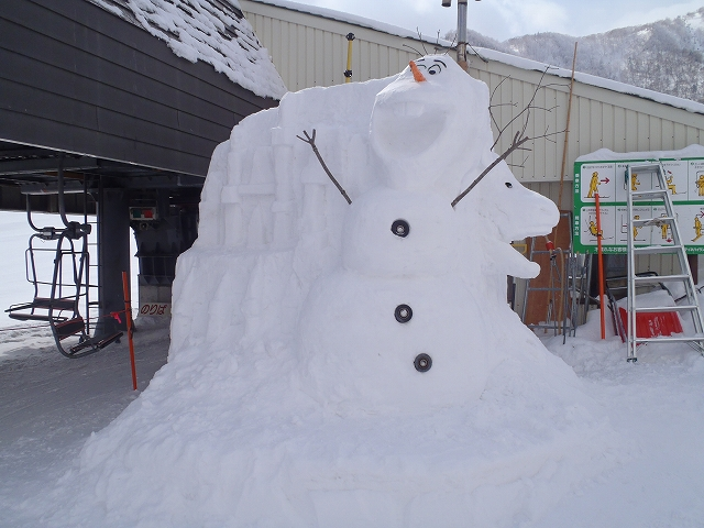 アナ雪 オラフ