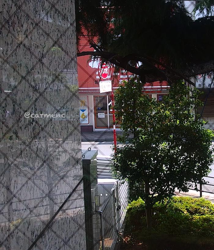 コメダコーヒー窓の外