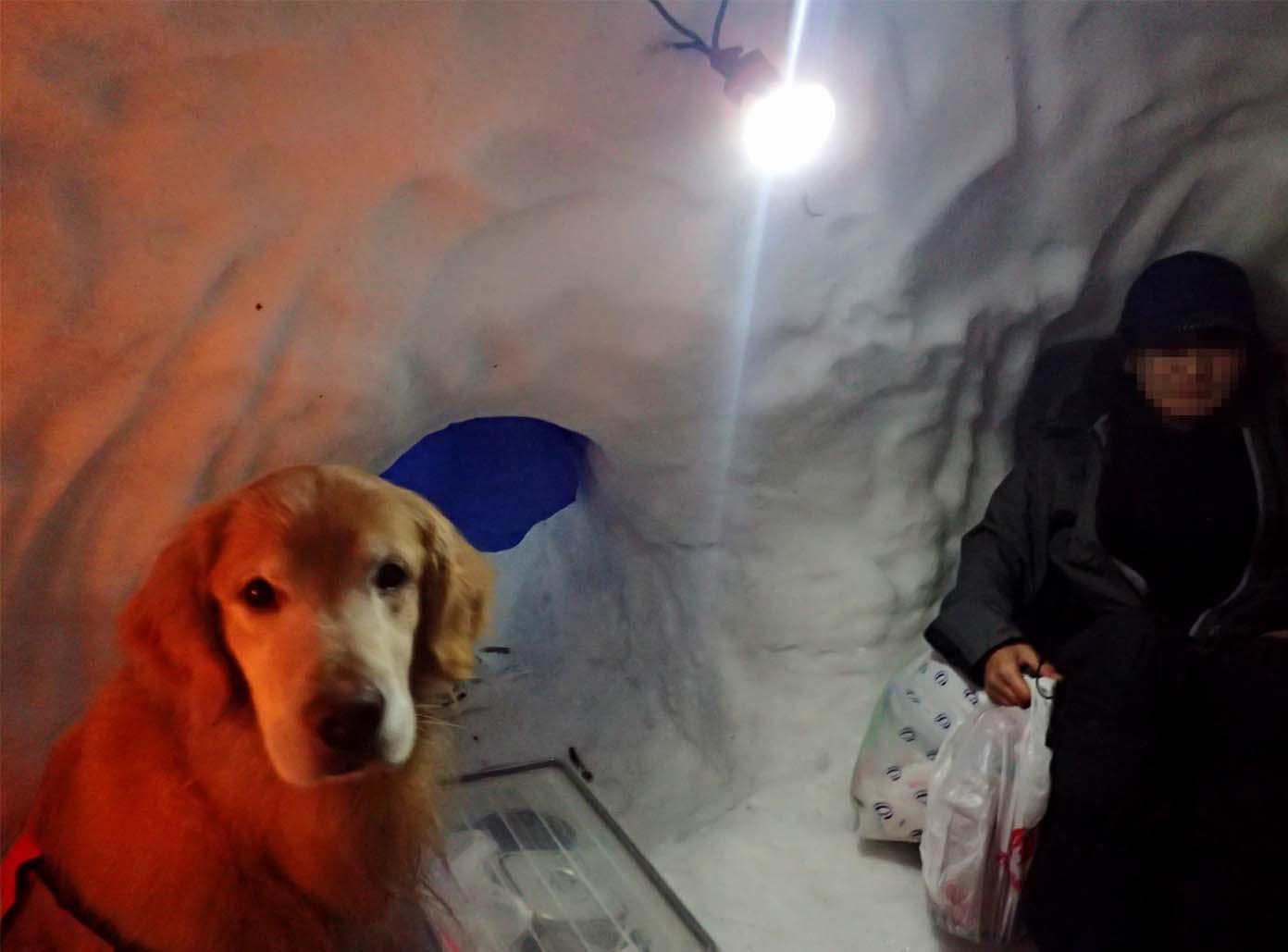 3月27日 雪洞泊(2)