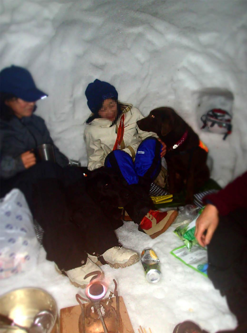 3月27日 雪洞泊(6)