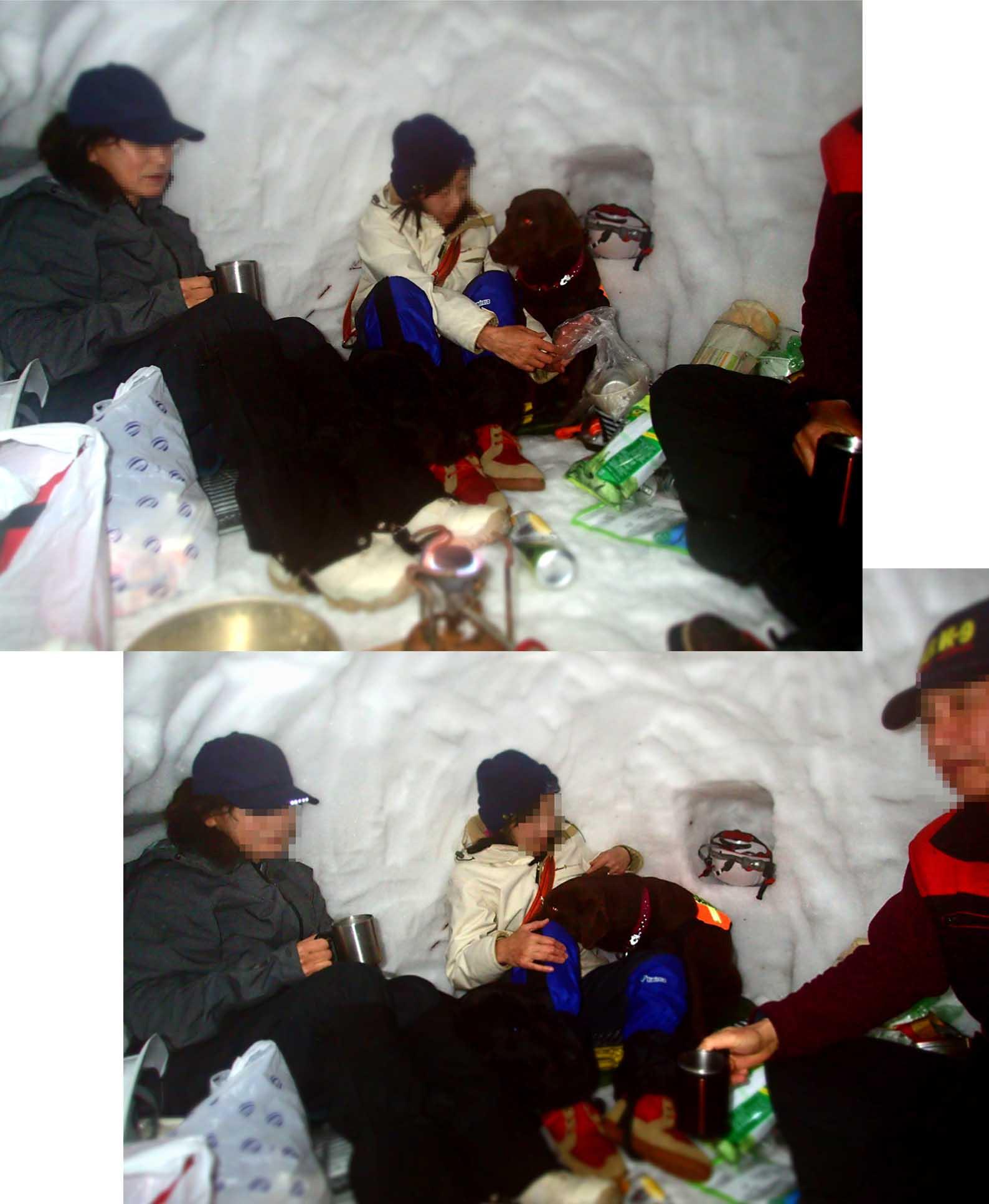 3月27日 雪洞泊(7)