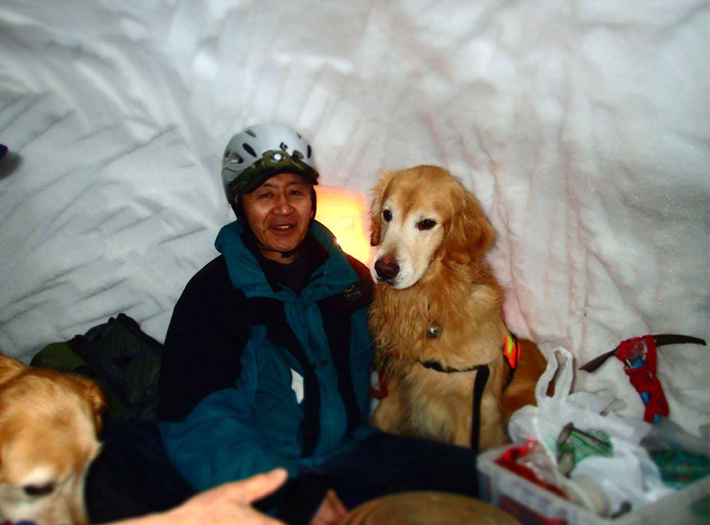 3月27日 雪洞泊(9)