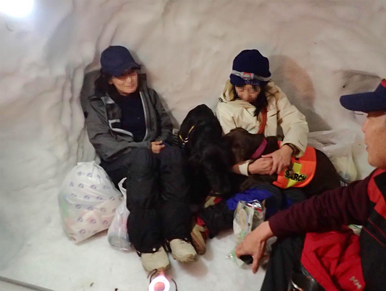 3月27日 雪洞泊(10)