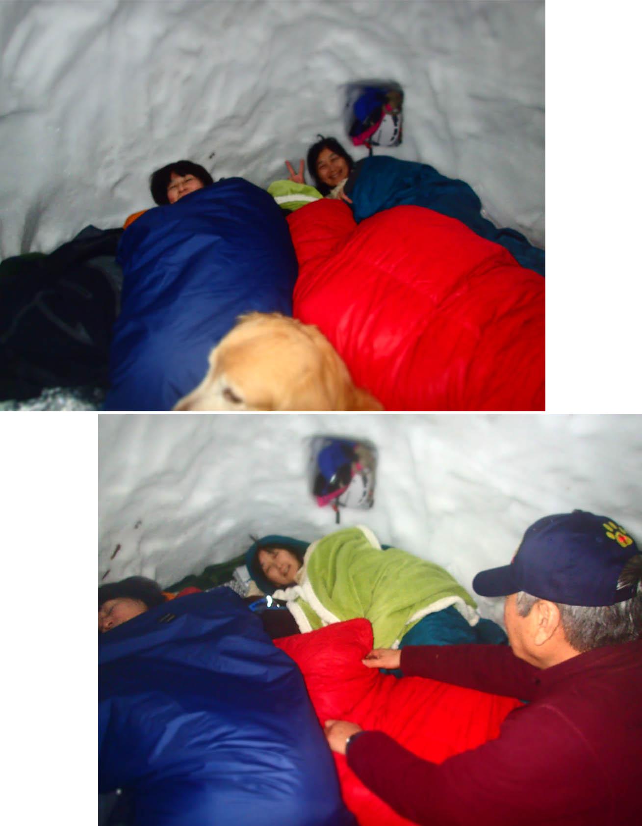 3月27日 雪洞泊(11)