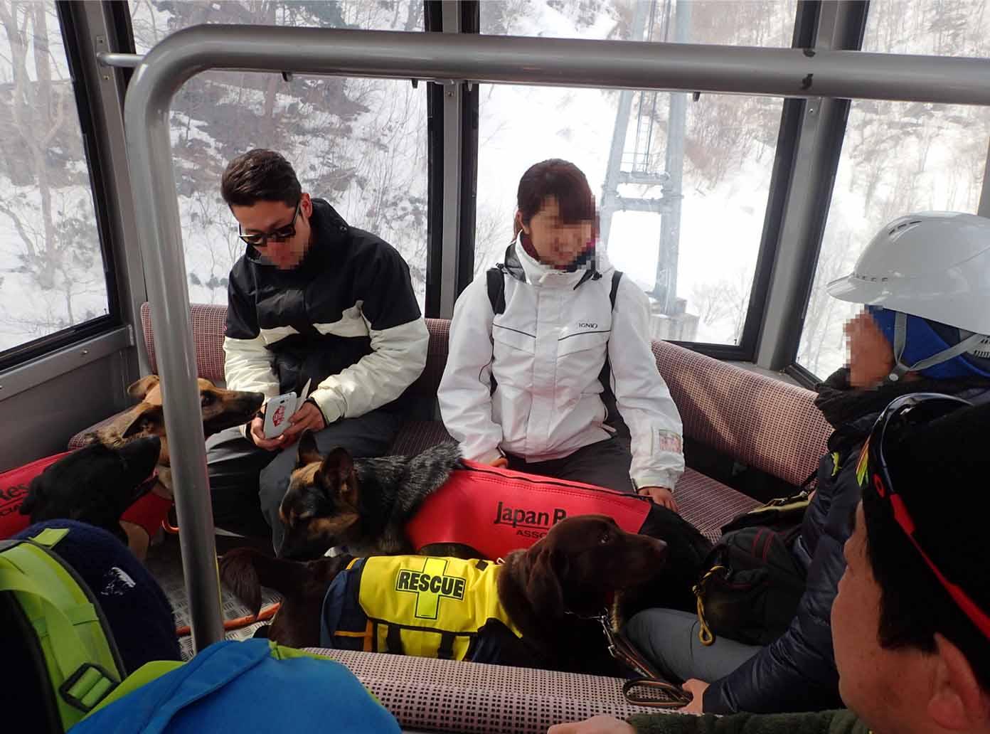 3月28日 雪中訓練(2)