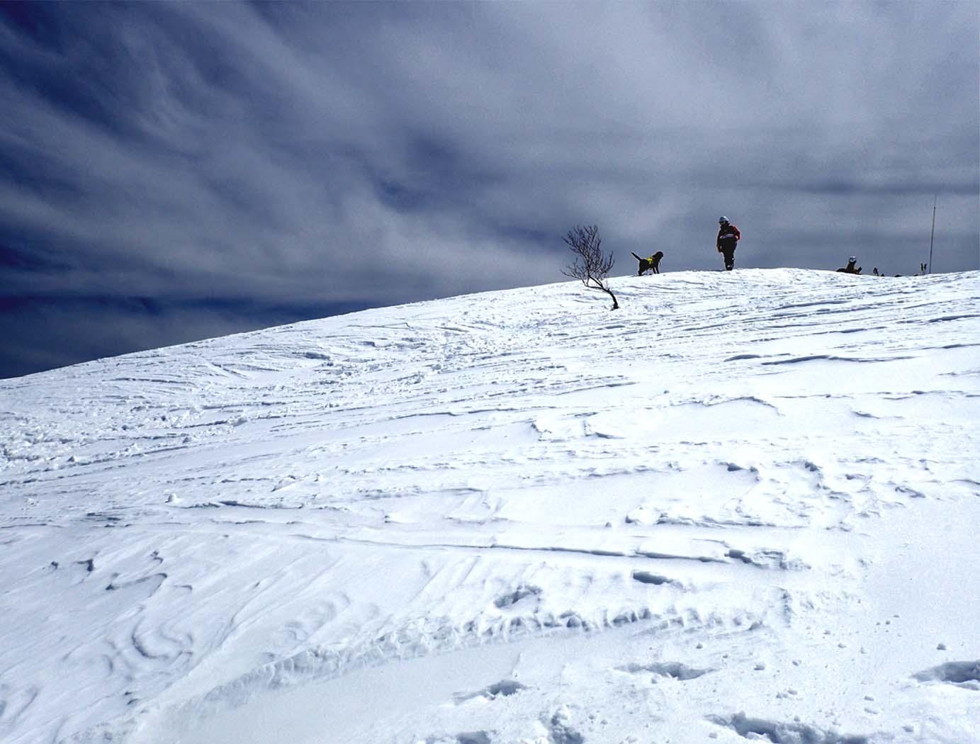 3月28日 雪中訓練(9)