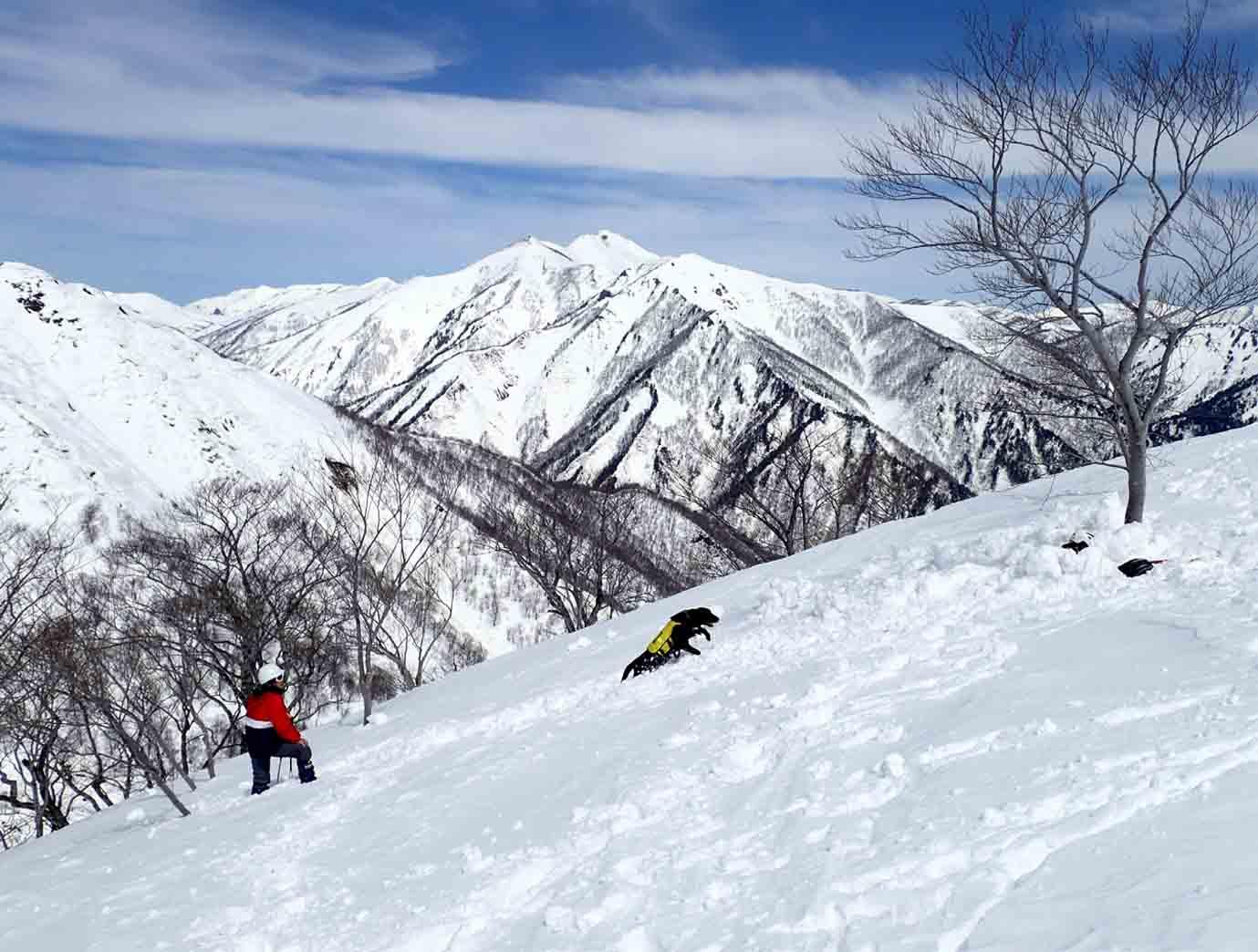 3月28日 雪中訓練(11)