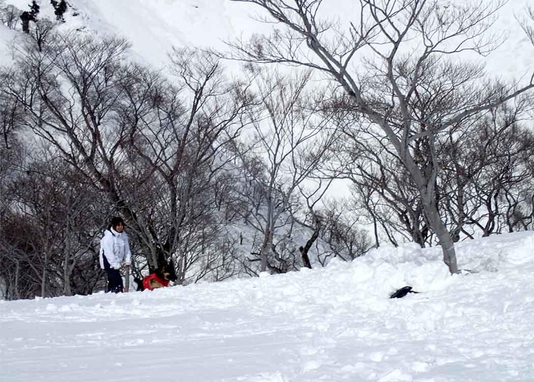 3月28日 雪中訓練(12)
