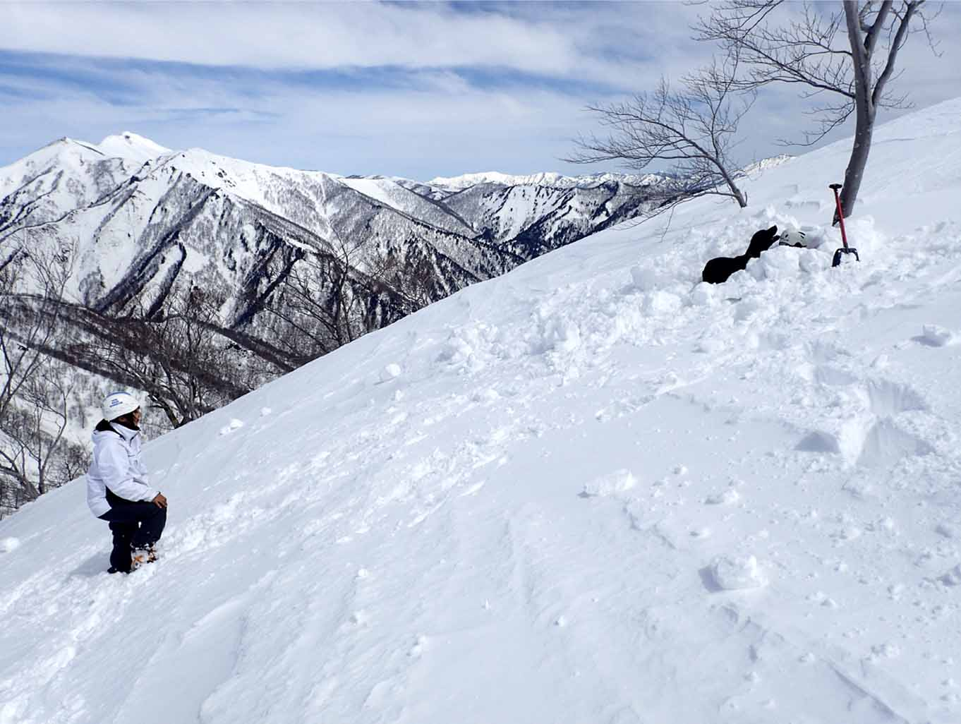 3月28日 雪中訓練(15)