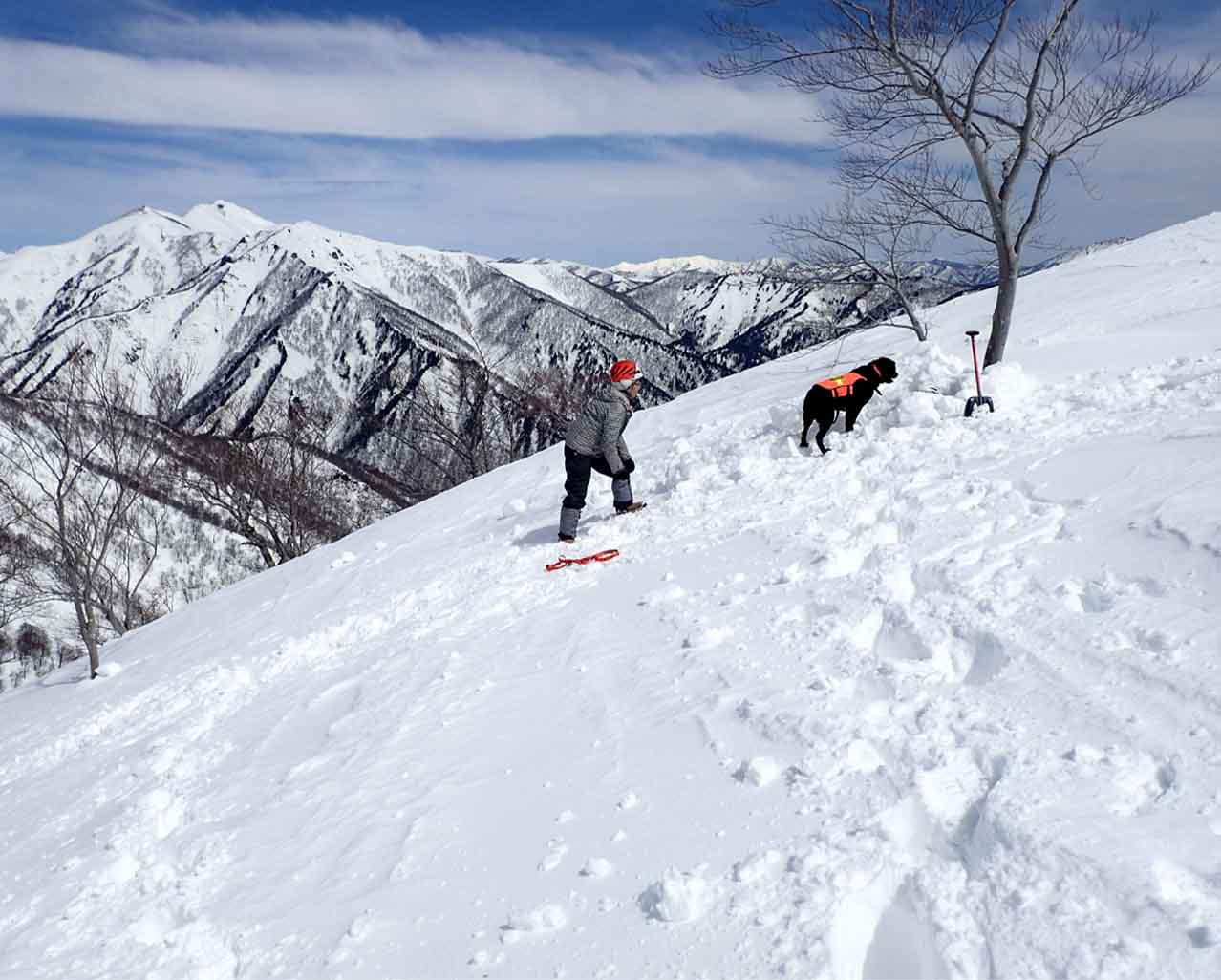 3月28日 雪中訓練(19)