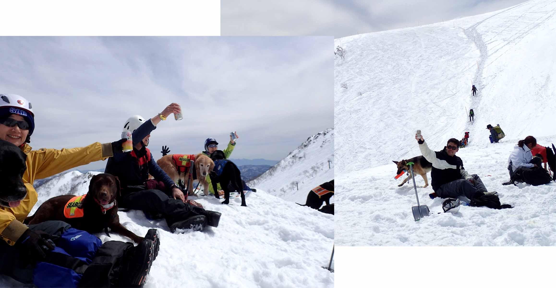 3月28日 雪中訓練(32)