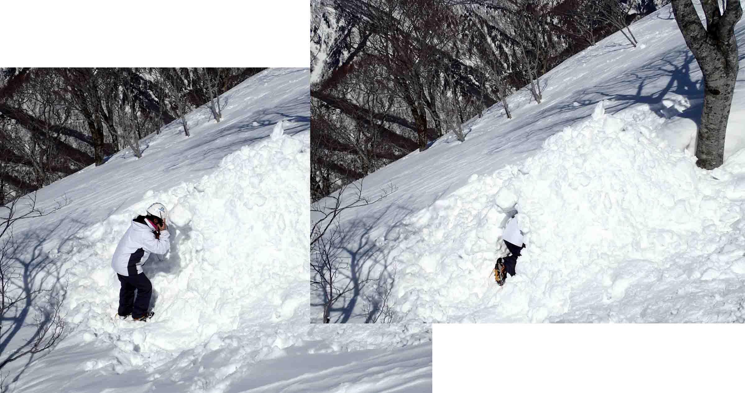 3月28日 雪中訓練(38)