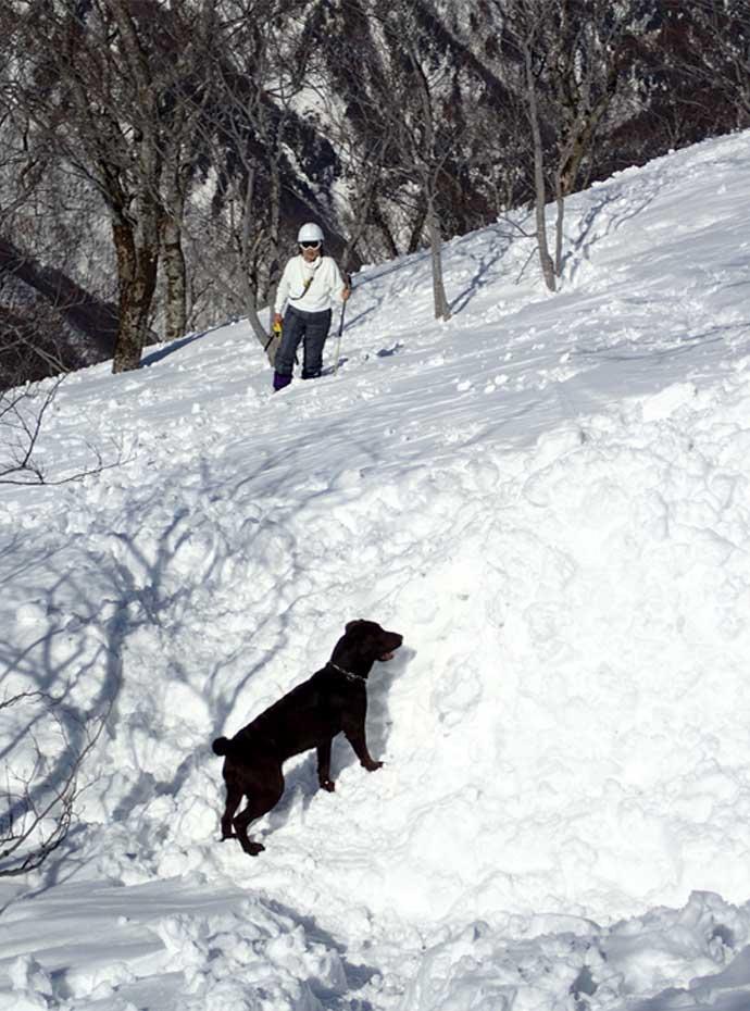 3月28日 雪中訓練(56)