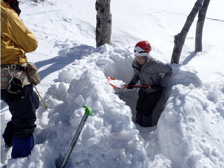 3月28日 雪中訓練(62)