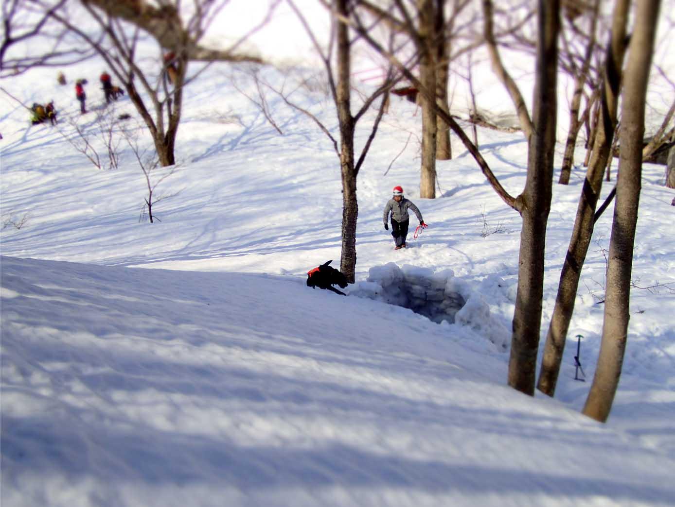 3月29日 雪中訓練(4)