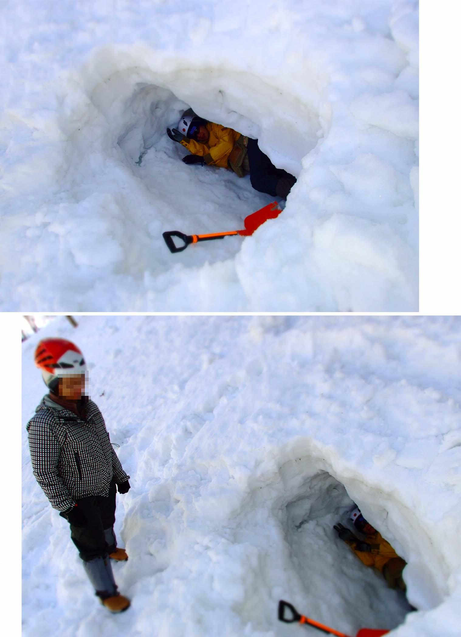 3月29日 雪中訓練(7)