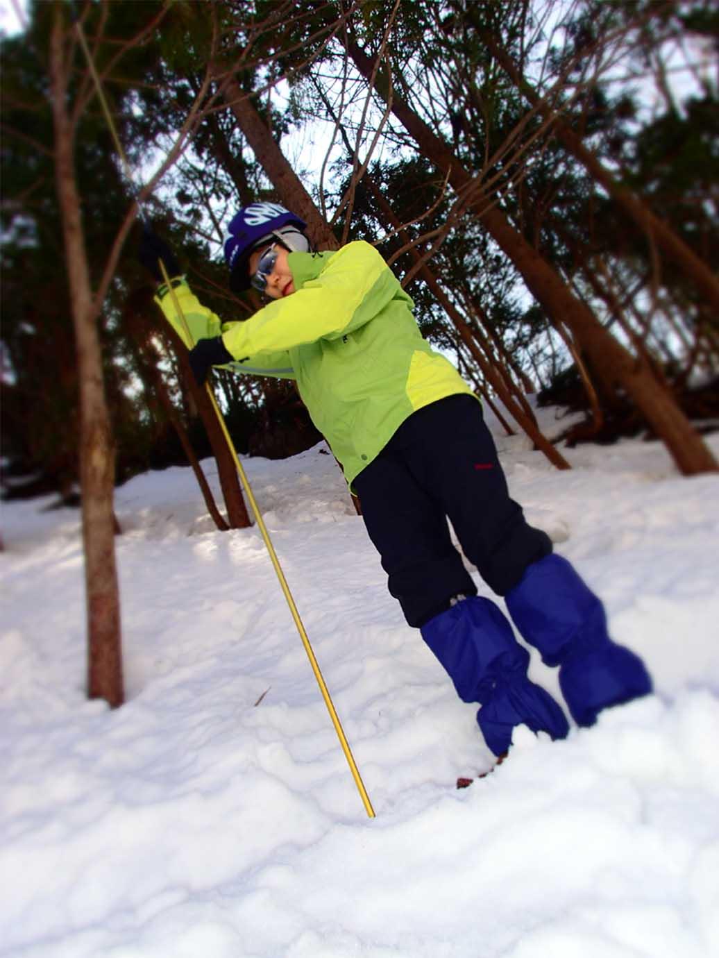 3月29日 雪中訓練(8)