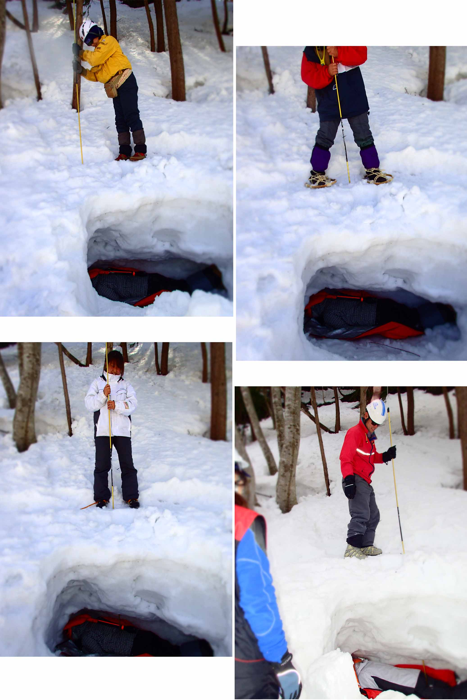 3月29日 雪中訓練(9)