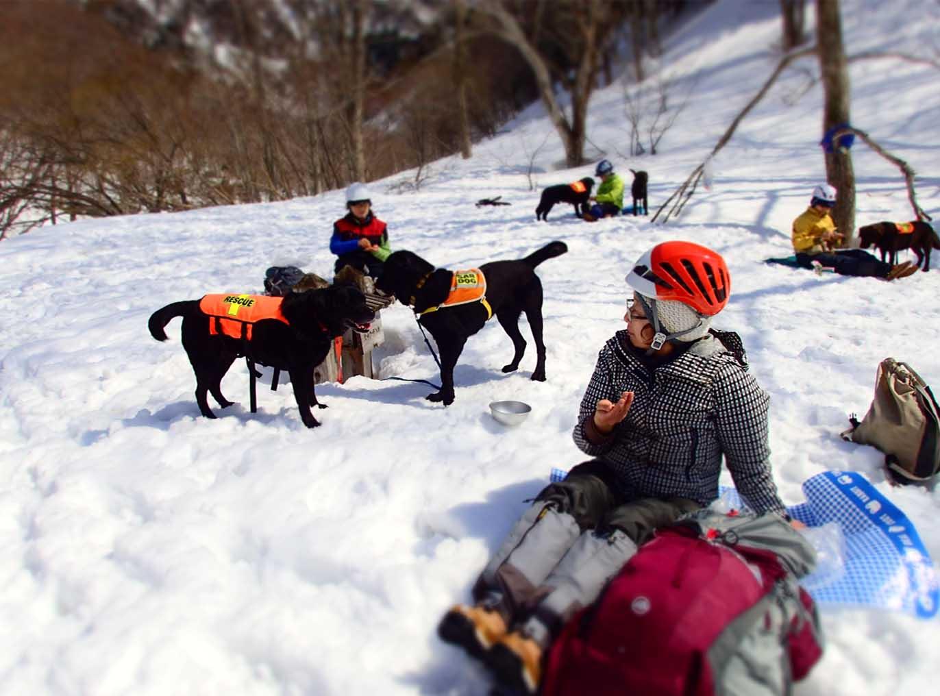 3月29日 雪中訓練(11)