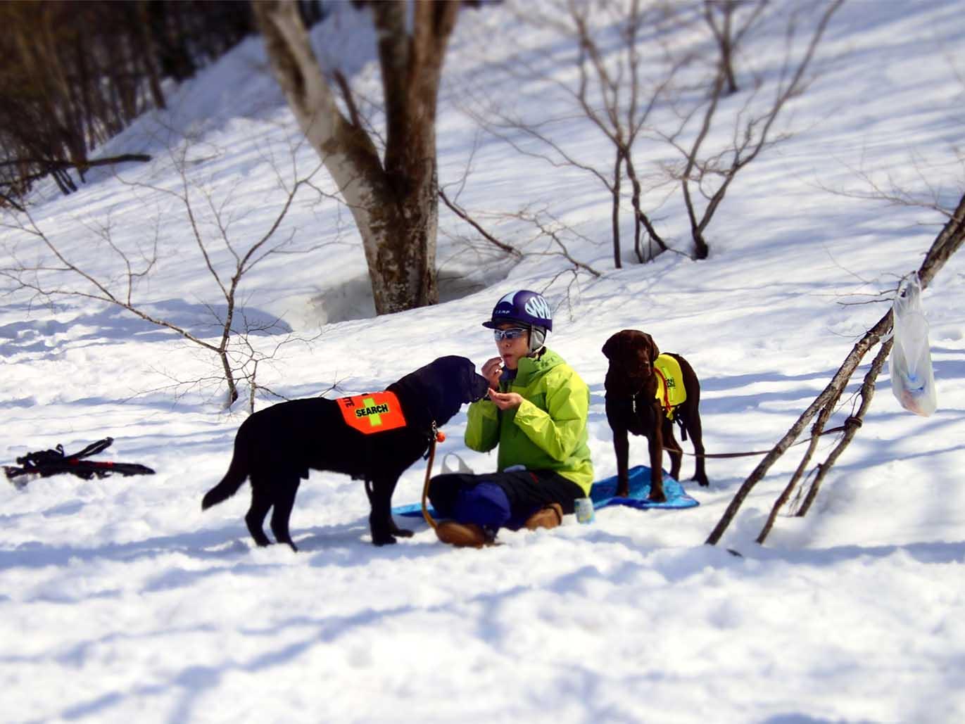 3月29日 雪中訓練(12)