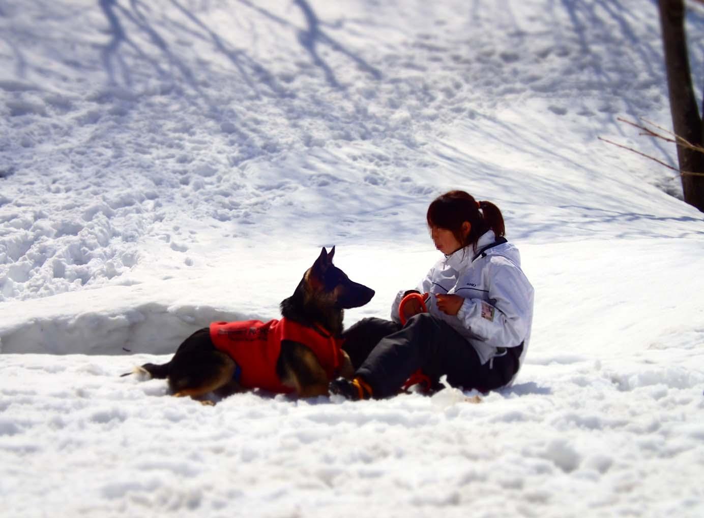 3月29日 雪中訓練(13)