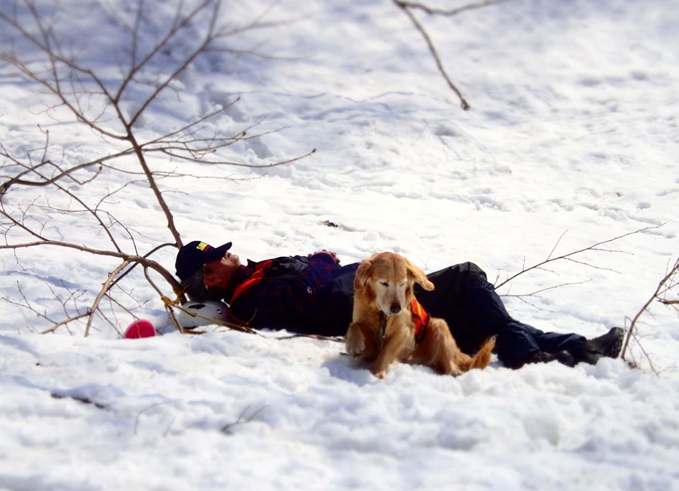 3月29日 雪中訓練(14)