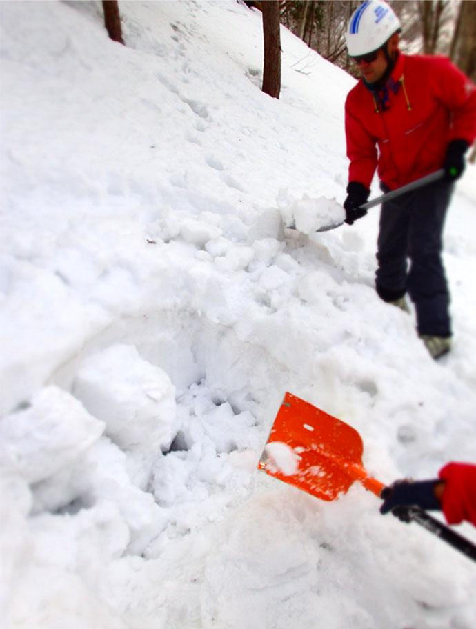 3月29日 雪中訓練(15)