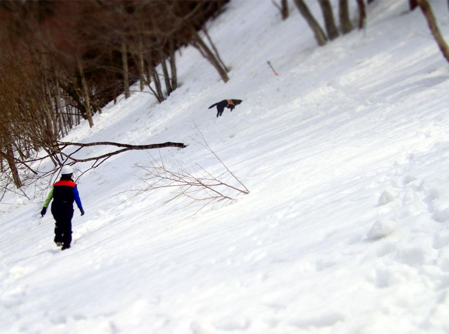 3月29日 雪中訓練(17)