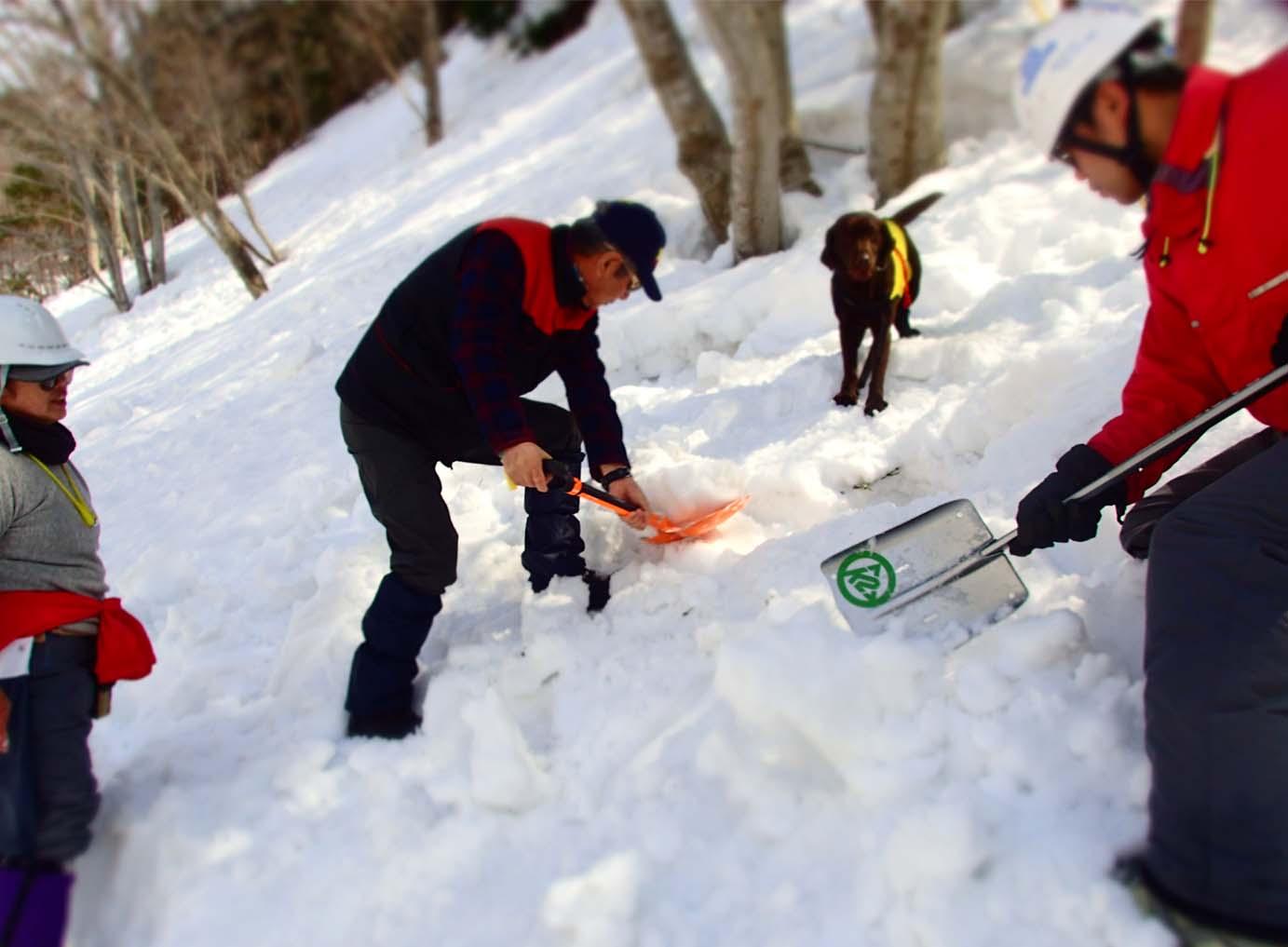 3月29日 雪中訓練(20)