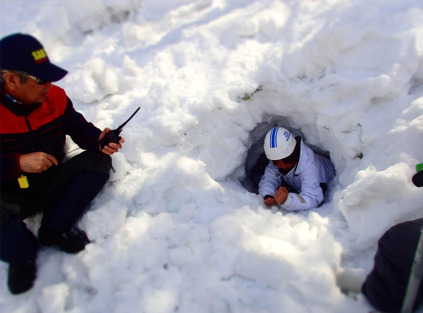 3月29日 雪中訓練(21)
