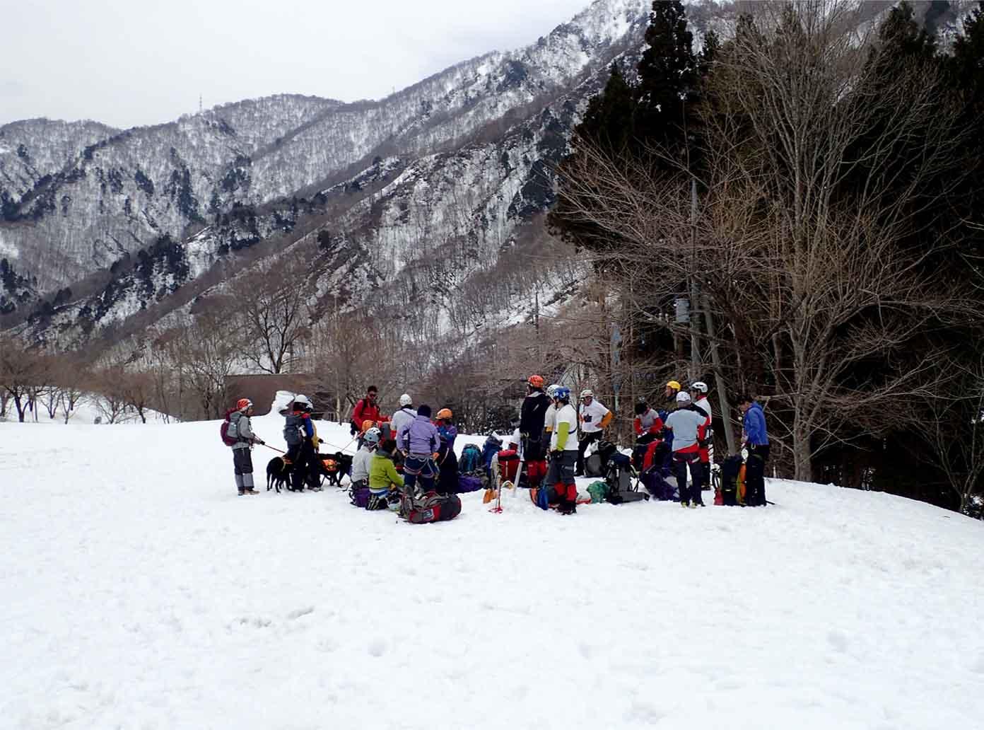 3月29日 雪中訓練(35)