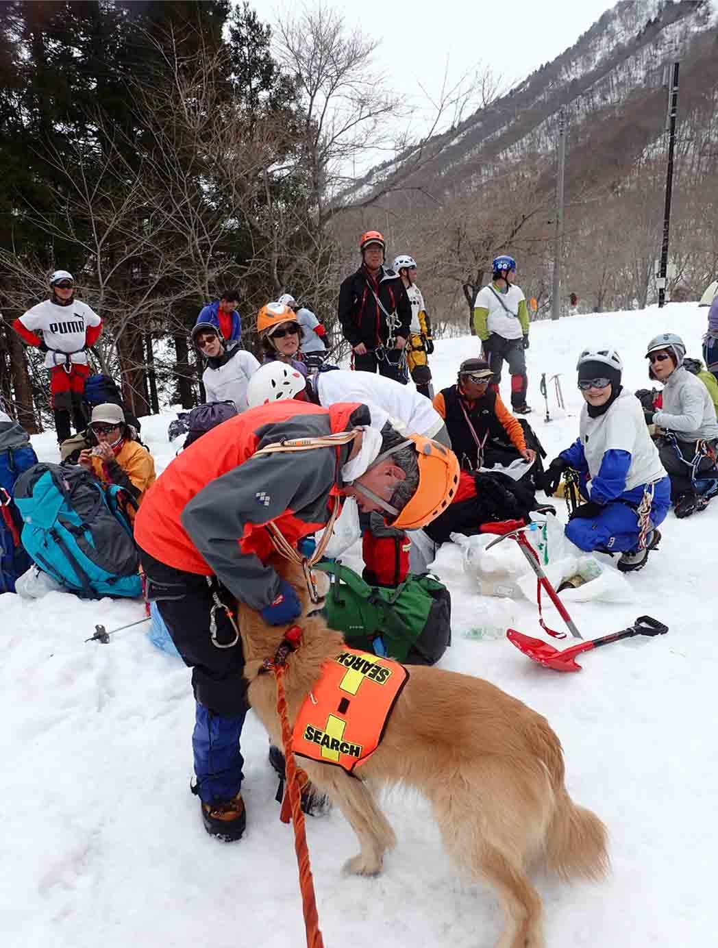 3月29日 雪中訓練(36)