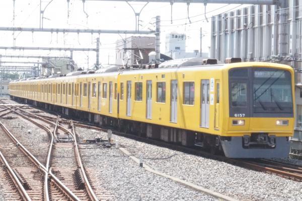 2015-06-07 西武6157F 快速急行元町・中華街行き 6805レ