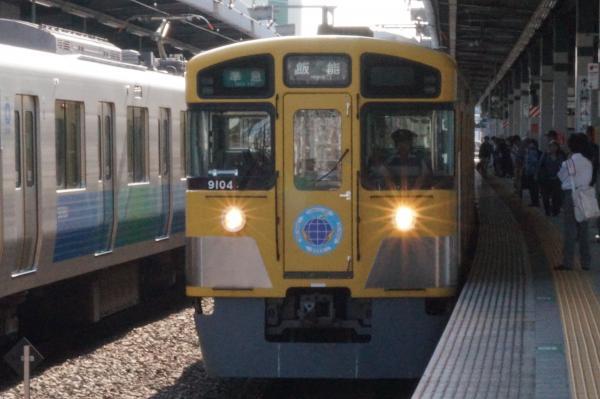 2015-06-07 西武9104F 準急飯能行き1 4115レ