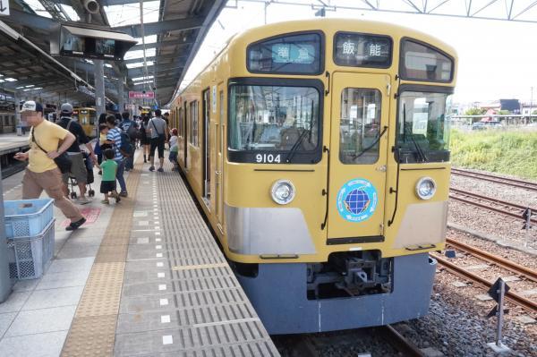 2015-06-07 西武9104F 準急飯能行き3 4115レ