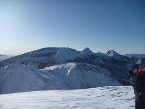 西天狗山頂から南八ヶ岳