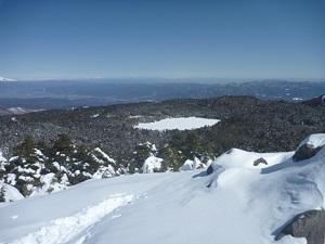 高見石からの景色