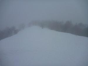 地蔵岳の稜線0