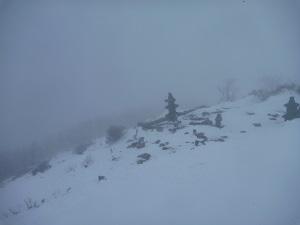 地蔵岳山頂1