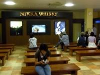 ニッカウイスキー仙台宮城峡蒸留所6見学待合室