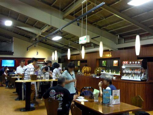 ニッカウイスキー仙台宮城峡蒸留所16試飲コーナー